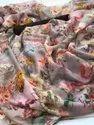 Pure Tabi Silk With Spanish Digitally Print