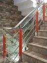 Acrylic Railing With Glass