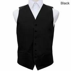 Sleeveless Black Mouriya Ladies Waist Coat