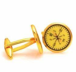 0.925 Silver Compass Cufflinks