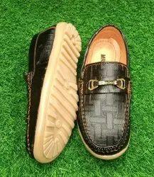 Party Wear Brown Boys Designer Lofer Shoes