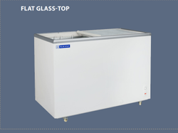 401 Litre Flat Glass Top Deep Freezer