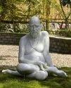White Marble Swami Samarth Statue, Outdoor, Size: 2 Feet
