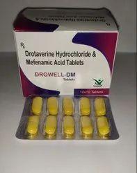 Drotaverine 80mg  Mefenamic Acid 250mg TABS