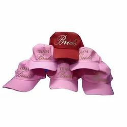 Promotional Cotton Caps Printing Services, Size: Free Size