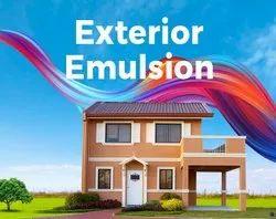 High Sheen White Exterior Emulsion Paint, Packaging Size: 20 Litre