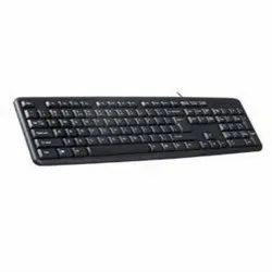 With Wire Black INTEX Corona PRO USB Keyboard, Size: Regular