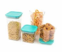 Plastic Container Set For Kitchen, Kit Kat Container