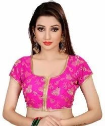 Pr Fashion  Beautiful Readymade Blouse To Pair Up With Your Plain Or Printed Saree Or Lehenga.