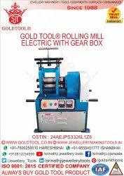 Jewellery Rolling Mill Single Head Rolling Mills With Handle