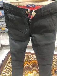 Black Men Trousers