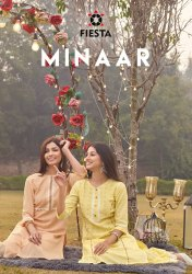 Fiesta Minaar Kurti With Sharara Catalog Collection