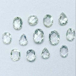 真正的钻石玫瑰切钻石