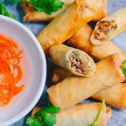 Savory Spring Roll Non Veg, Packaging Type: Packet