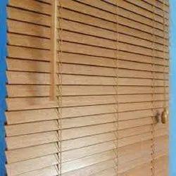 Brown Wooden Venetian Blinds, Size: 6mm