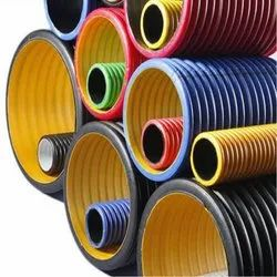 375 Mm ID HDPE Double Wall Corrugated Pipe
