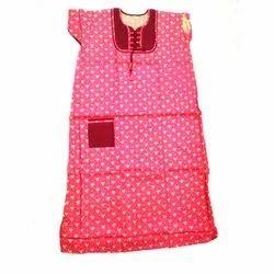 Ladies Printed Cotton Nightgown