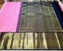 Pink Wedding Indian Ethnic Designer Kanchipuram Handloom Bridal Wear Saree, 6 M (with Blouse Piece)
