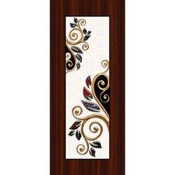 棕色层压冲洗门皮,尺寸:7 x 4英尺