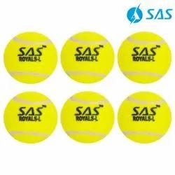 Cricket Tennis Training Ball (Set Of 6) - F. Yellow