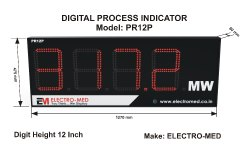 12 Inch Process Indicator (Double Side)