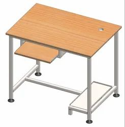 VE desire color MS ComputerTable Wooden Top, For Office, Size: 900x600x900