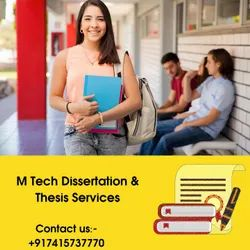 Mtech Thesis Writing Services