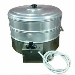Stainless And Aluminium Electric Momo Steamer, 2 Kw, Capacity: 2 Layer