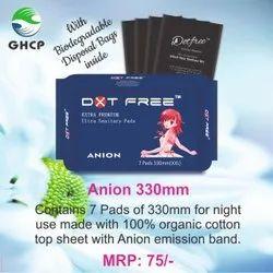 Dotfree Extra Premium 330mm Anion Ultra Sanitary Pads