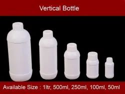HDPE Vertical Bottle