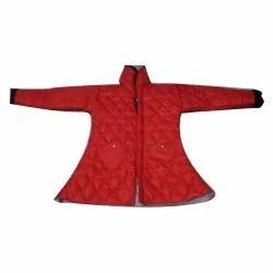 Collar Neck Baby Girl Woolen Jacket