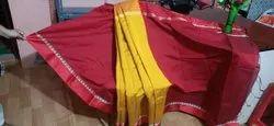 Border Festive Wear striped handloom saree with blouse