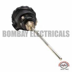Head Type Temperature Sensor J / K / PT - 100