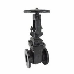 1079C Cast Iron Double Flanged Sluice Valve With Rising Stem