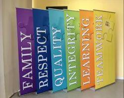 Rectangle Flex Banner, For Advertising