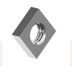 Polished Stainless Steel Din 562 square thin nuts, Size: M6 To M 10