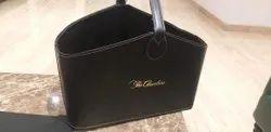 Diwali Golden Leather Gift Basket / Gift Hamper, For Gifting