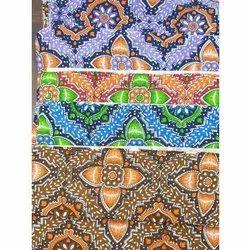 100% Cotton Multicolor Rajai Print Fabric