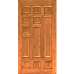 Art Teak Wood Door