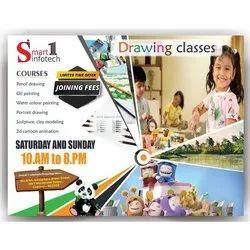 3-4 Days Paper Pamphlets Designing Service