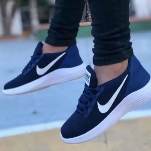 Men Blue Nike Stylish Casual Shoes, Rs