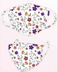 L.K.Creations Reusable Sublimation Ladies Mask, Number of Layers: 2