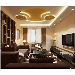 Plaster of Paris Ceiling Home Interior Decoration Services, Work Provided: False Ceiling/POP