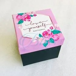 Fancy Skincare Cosmetic Cardboard Packaging Box