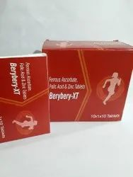 Berybery-XT Tablets, Packaging Size: 10x10 Tablet