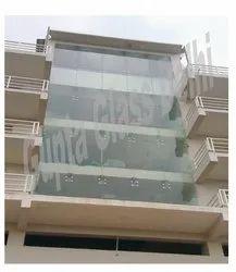12 MM Clear Toughen Glass