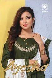 Kiana Ayesha Kurti With Dupatta Catalog Collection