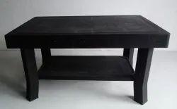 Diya Black Small Plastic Table