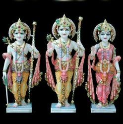 Makrana Ram Darbar Marble Statue