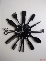 Decorative Barber Wall Clock